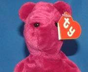 Teddy Old Face Magenta